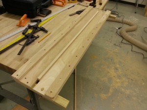 Using the completed jig
