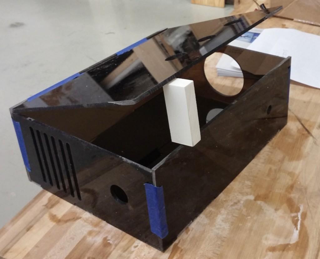 CNC Box Taped